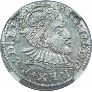 Zygmunt III Waza, Trojak Ryga 1588