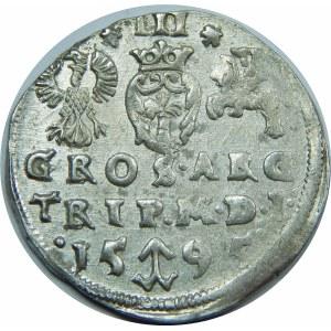 Zygmunt III Waza, Trojak Wilno 1595