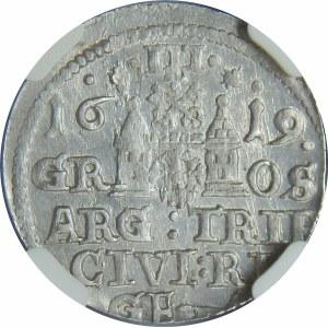 Zygmunt III Waza, Trojak Ryga 1619
