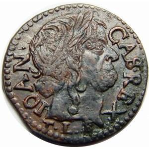 Jan II Kazimierz, szeląg koronny Kraków 1660 TLB