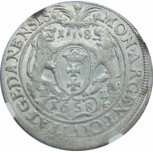 Jan II Kazimierz, Ort Gdańsk 1658 DL
