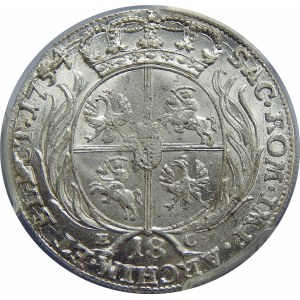 August III Sas, ort Lipsk 1754 EC