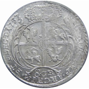 August III Sas, 8GR Lipsk 1753