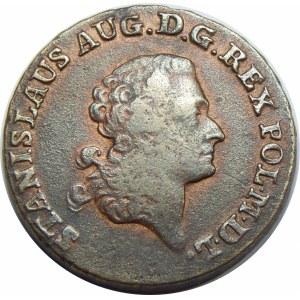 Stanisław August Poniatowski, trojak Warszawa 1788 EB