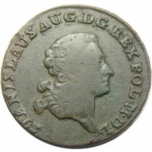 Stanisław August Poniatowski, trojak Warszawa 1790 EB