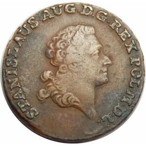 Stanisław August Poniatowski, trojak Warszawa 1792 EB