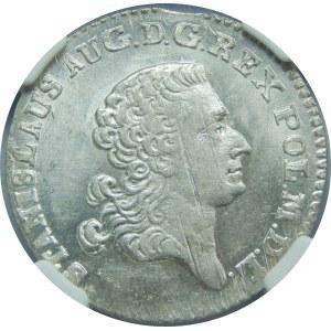 Stanisław August Poniatowski, 1 złoty Warszawa 1767 FS