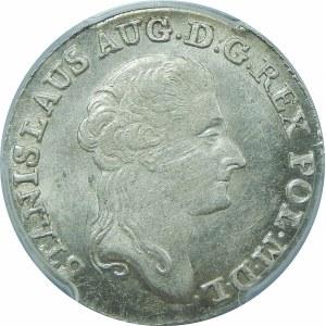 Stanisław August Poniatowski, 1 złoty Warszawa 1791 EB