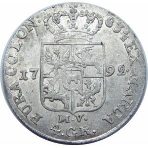 Stanisław August Poniatowski, 1 złoty Warszawa 1792 EB