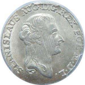 Stanisław August Poniatowski, 1 złoty Warszawa 1793 MV