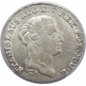 Stanisław August Poniatowski, 2 złote Warszawa 1791 EB