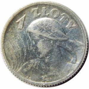 1 złoty 1924 Żniwiarka