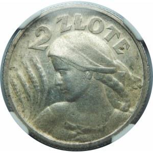 2 złote 1924 Żniwiarka Paryż