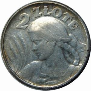 2 złote 1924 Żniwiarka, literka H