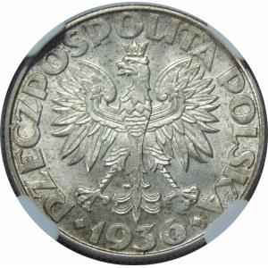2 złote 1936 Żaglowiec