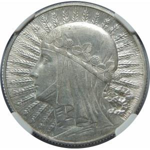 5 złotych 1932 Głowa Kobiety BZM