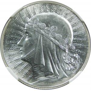 5 złotych 1933 Głowa Kobiety
