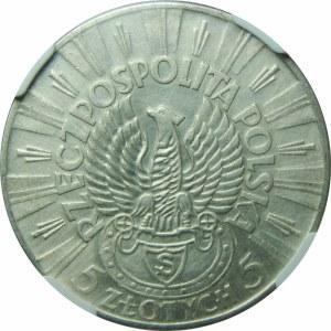 5 złotych 1934 Piłsudski Strzelecki
