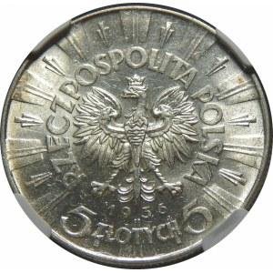 5 złotych 1936 Piłsudski