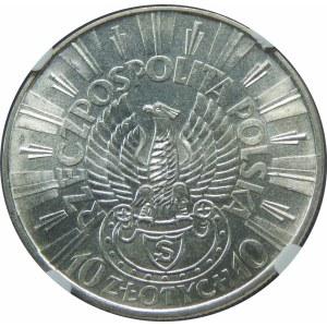 10 złotych 1934 Piłsudski Strzelecki