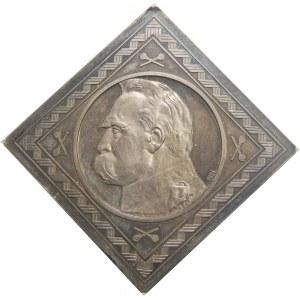 PRÓBA KLIPA 10 złotych Piłsudski 1934 NGC MS65