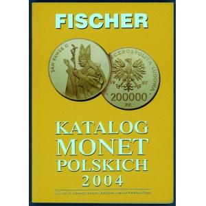Fischer, Katalog monet polskich 2004