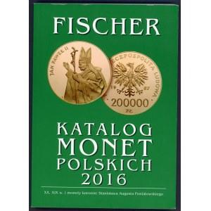 Fischer, Katalog monet polskich 2016