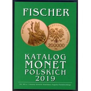 Fischer, Katalog monet polskich 2019