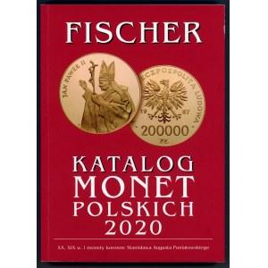 Fischer, Katalog monet polskich 2020