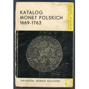 Jabłoński, Terlecki, Katalog monet polskich 1669-1763