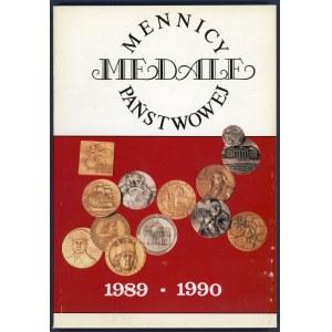 Kamiński, Medale Mennicy Państwowej 1989-1990