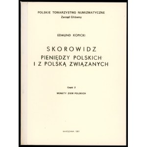 Kopicki, Skorowidz pieniędzy polskich ...