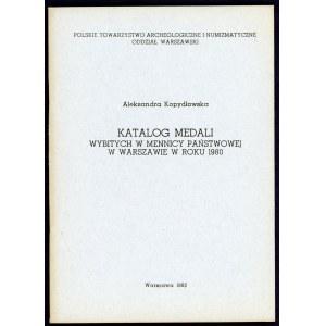 Kopydłowska, Katalog medali wybitych ...
