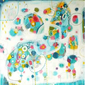 Marlena Rakoczy, Kolorowe wibracje II, 2018