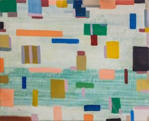 Bartosz Michał Hoppe-Sadowski, Landscape inspired by Piet Mondrian painting, 2016