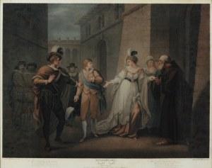 Francesco BARTOLOZZI (1728-1815), Szekspir: Wieczór Trzech Króli [Twelfth Night], 1797