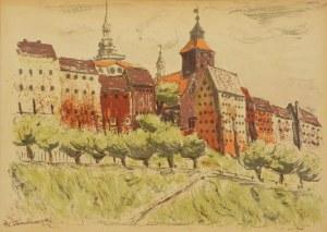 Wacław TARANCZEWSKI (1903-1987), Stare spichlerze w Grudziądzu
