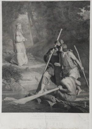 Wojciech GERSON (1831-1901), Zachwycenie (Flisacy), 1864