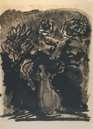 Eugeniusz EIBISCH (1895-1987), Wazon z kwiatami