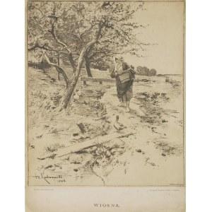 Roman KOCHANOWSKI (1857-1945), Wiosna, po 1865