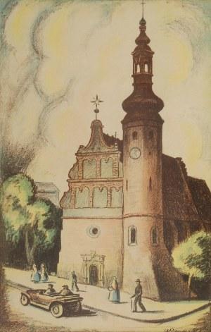 Władysław ROGUSKI (1890-1940), Kościół  Klarysek w Bydgoszczy