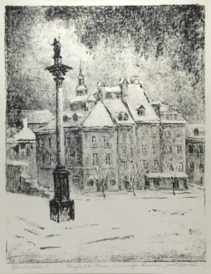 Aleksander SOŁTAN (1903-1994), Plac Zamkowy w Warszawie