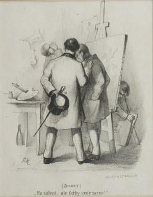 Franciszek KOSTRZEWSKI (1826-1911), (Znawcy) ma talent...ale farby ordynarne!, 1858