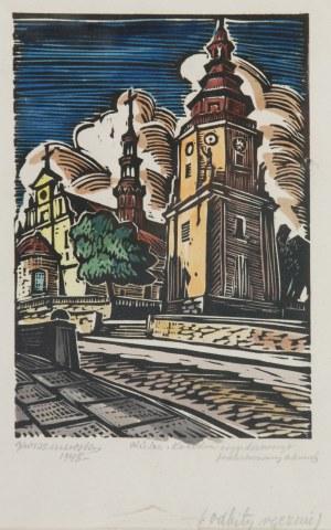 Kazimierz WISZNIEWSKI (1894-1961), Katedra w Kielcach, 1948