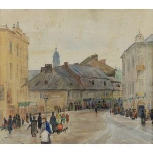 Franciszek TUREK (1882-1947), Wejście na Kazimierz (przed zburzeniem), 1912/1913