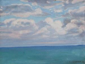 Ludwik de LAVEAUX (1891-1969), Morze Bałtyckie, 1931