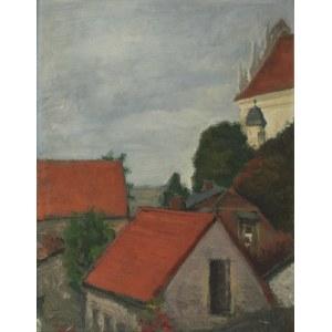 Kazimierz POCZMAŃSKI (1900-1982), Pejzaż z Kazimierza Dolnego, 1967