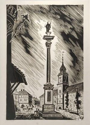 Stefan RASSALSKI  (1910-1972), Plac  Zamkowy, 1960