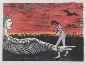 Stefania DRETLER-FLIN (1909-1994), Tanatos, 1979