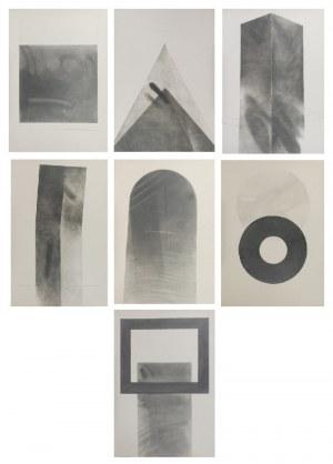 Tomasz STANDO (ur. 1953), Z teki 7 rysunków, 1983-1984